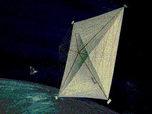solar sail three axis stabilized structure min